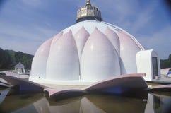 The Satchidananda Ashram-Yogaville and Lotus Conference Center in Buckingham, Virginia Stock Photos