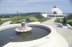 The Satchidananda Ashram-Yogaville and Lotus Conference Center in Buckingham, Virginia Royalty Free Stock Image