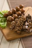 Sate jeroan. indonesian traditional cuisine Stock Images