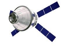 Satelita odizolowywająca Zdjęcia Royalty Free