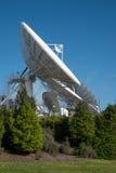 Satelitarnej komunikaci naczynie Fotografia Stock