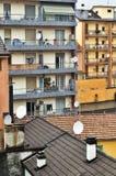 satelitarny dotyczy tv zdjęcie stock