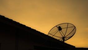 Satelitarny odbiorca Zdjęcie Stock