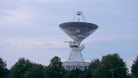 Satelitarny szyk przy centrum Astronautyczna komunikacja zbiory