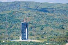 Satelitarny wszczyna miejsce zdjęcie stock