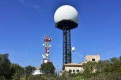 Satelite antenna Stock Image