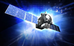 Satelite Stock Photo