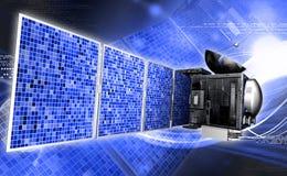 Satelite Stock Photo