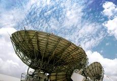 Satelite dish stock images