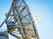 Satelite dish. Sideview - at berlin Royalty Free Stock Photography