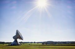 Satelite dish - radio telescope Royalty Free Stock Photography