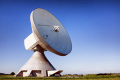 Satelite dish - radio telescope Royalty Free Stock Image