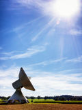 Satelite dish - radio telescope Stock Photos