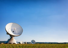 Satelite dish - radio telescope Stock Image