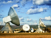 Satelite dish - radio telescope Stock Photo