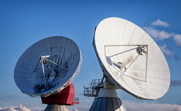 Satelite dish - radio telescope Royalty Free Stock Photography