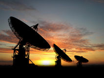 Satelite Dishes Stock Photos