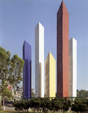 Satelite towers, Mexico City Royalty Free Stock Image