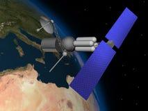 Satelitte Lizenzfreies Stockfoto