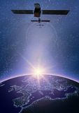 Satelitte 2 Lizenzfreies Stockbild