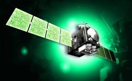 Satelitte stock abbildung