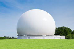 Satelity ziemi stacja lub ziemi terminal dla extraplanetary radiowej telekomunikaci Zdjęcie Stock