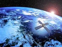 Satelliet Royalty-vrije Stock Foto's