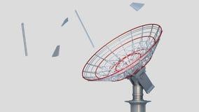 Satelliet stock footage
