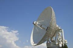 Satelliet antenne Royalty-vrije Stock Afbeeldingen