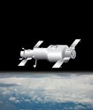 Satelliet illustratie Royalty-vrije Stock Foto