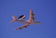 Satelliet noradvliegtuig royalty-vrije stock foto