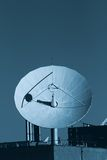 Satelliet Schotel stock foto's