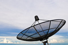 Satelliet schotel Royalty-vrije Stock Fotografie
