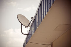 Satelliet schotelantenne Royalty-vrije Stock Foto