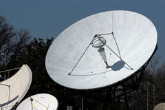 Satelliet schotels #7 royalty-vrije stock fotografie