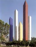 Satelliet torens, Mexico-City royalty-vrije stock afbeelding
