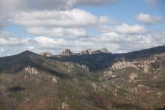Satellietbeeld van Custer State Park, BR royalty-vrije stock fotografie