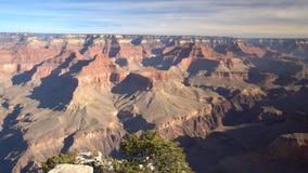 Satellietbeeld van het mooie Nationale Park van Grand Canyon van het Lipan-Punt van Zuidenrand stock footage