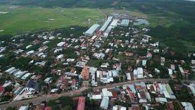 Satellietbeeld van Khanh Tan Pagoda royalty-vrije stock afbeelding