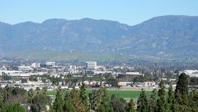 Satellietbeeld van Loma Linda-cityscape stock footage