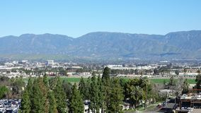 Satellietbeeld van Loma Linda-cityscape stock video