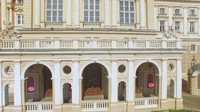 Satellietbeeld van Odessa National Academic Opera en Ballettheater stock footage