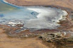 Satellietbeeld van platteland, Victoria, Australië royalty-vrije stock afbeeldingen