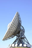 Satellietcommunicatie in Frisian Burum, Nederland Stock Foto's
