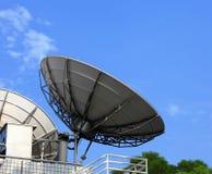 Satellietschotel Stock Afbeeldingen