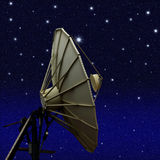 Satellietschotel royalty-vrije illustratie