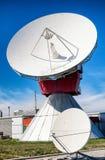 Satellietschotel - radiotelescoop Royalty-vrije Stock Fotografie