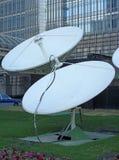 Satellietschotels royalty-vrije stock afbeeldingen