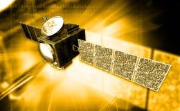 Satellit stock illustrationer
