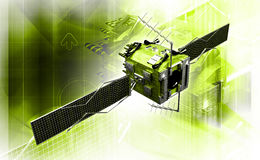 satellit Lizenzfreies Stockbild